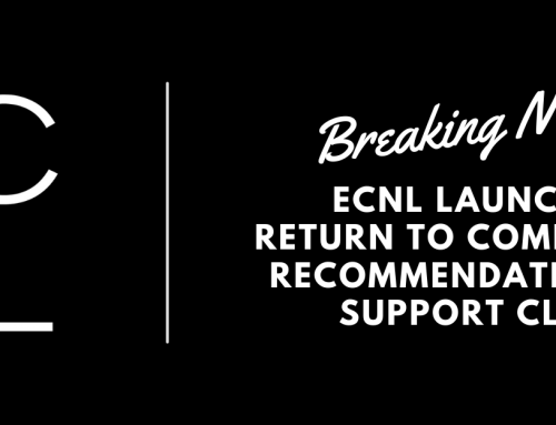 ECNL Return to Competition Recommendations